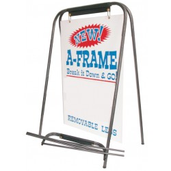 "Portable Tube A Frame (27"" X 38"" Sign)"