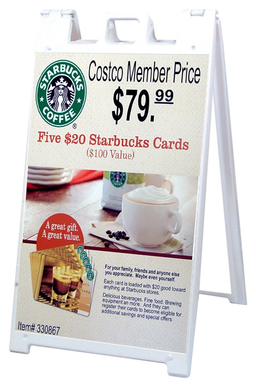 """Signicade A Frame Stand (24"""" X 36"""" Sign)"""